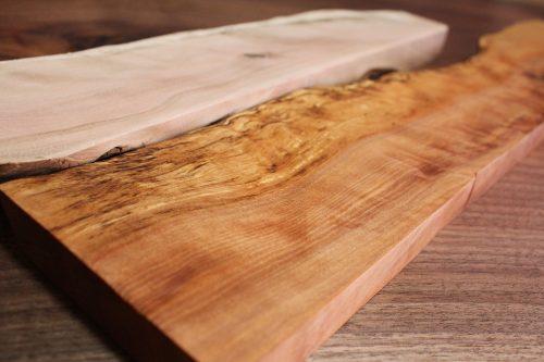 日本一硬い木 杢とスポルテッドがスゴイ 素人木工のペーパーがけは苦難の連続だった
